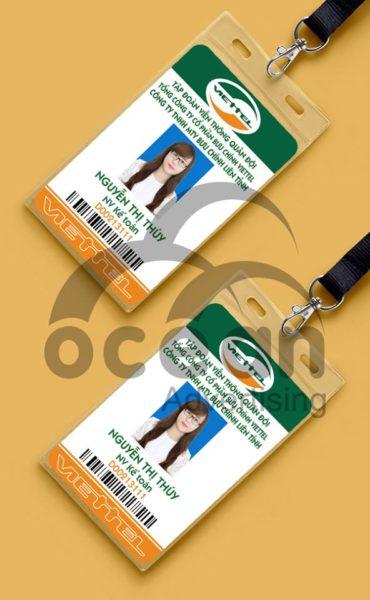Thẻ đeo nhân viên